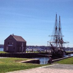 Salem Maritime National Site in Salem, MA