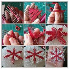 KUFER - artistic handicraft: Quilling - patterns