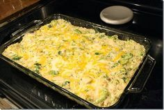 Chicken Broccoli and Cheese Casserole