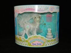 My Little Pony Vintage G1 Pony Bride Mint In Package MIP MOC NIP