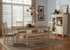Enchanting Upholstered Dining Room Chairs Retro Wooden Dining Table Also White Wooden Dining Chairs And Bench With Cream Cushions And Brown Wooden Laminate Flooring Also Cool Chandelier