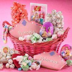 Peeps easter gift basket from figis easter baskets gifts and princess easter basket negle Choice Image