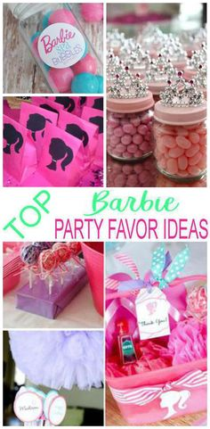 7 Barbie Party Favors The Coolest Favor Ideas For A Bday Theme