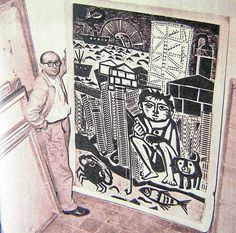 Antonio Berni - Grabado Social Realism, Surface Design, Printmaking, 13 October, Sculpture, Ramadan, Drawings, Illustration, Fabric
