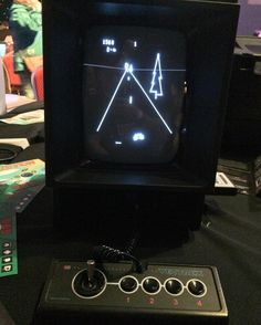 On instagram by kingmonkey25 #vectrex #microhobbit (o) http://ift.tt/21xDay9 happy I finally managed to get to play on a Vectrex at #PlayBlackpool this weekend.  arcadesystem console #retrogaming #gamersunite