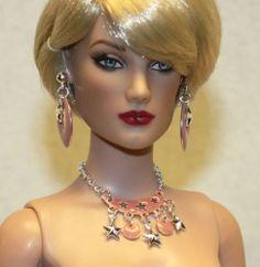 """""""Blush"""" Jewelry Set for Tonner Tyler Antoinette Ellowyne DeeAnna Gene Sybarite"""