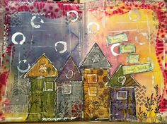 My first Art Journal / Mix media by VickyTA in Madrid