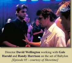 Behind the scenes Randy Harrison, Brian And Justin, Brian Kinney, Gale Harold, Queer As Folk, Vanity Fair, Favorite Tv Shows, Beautiful Men, Behind The Scenes