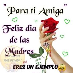 Muchas gracias por todo lo que me haz dado y que Dios te bendiga té amo Messages For Friends, Happy Wishes, Happy Mother S Day, Mom Day, Mothers Day Cards, Spanish Quotes, Happy Birthday, Father, Prayers