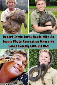 #Robert #Irwin #Turns #Heads #Iconic #Photo #Recreation #Looks #Dad Stylish Men, Stylish Outfits, Artsy Outfits, Relationship Advice, Marriage Tips, Relationships, Father Images, Well Images, Creative Communications