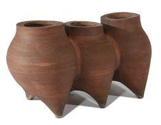 David Cressey Fused Ceramic Planter, designed circa 1963, October 2007 Auction, Estimate $1,200 - 1,500, Realized $6,000