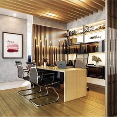Stylish Office Decor Ideas For Your Workspace - 5 Min Ideas Norms And Values, Corporate Office Decor, Some Inspirational Quotes, Diy Headboards, Healthy Environment, Stylish Office, First Home, Study, Decor Ideas