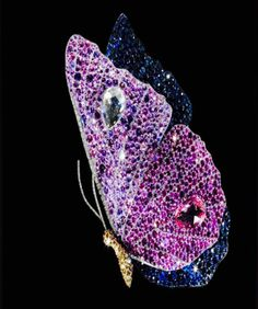JAR butterfly brooch from the Metropolitan exhibition in NY