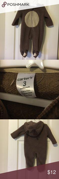 Carter's fur snowsuit Carters fur snowsuit. Like brand new . Worn once. Excellent condition. Size 3 months Carter's One Pieces Bodysuits