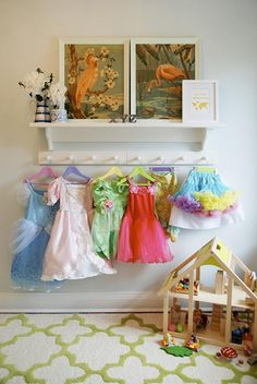Dress up storage how to great for a play room bedroom ideas for fun diy idea keep clothes displayed solutioingenieria Gallery