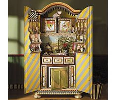 Kitchen In A Cupboard Scenery Armoire