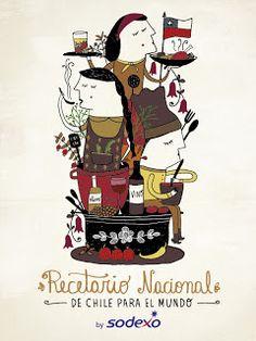 Recetario Nacional de Cocina Chilena para el Mundo