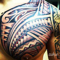 Tribal Tattoos   More tattoos at igotinked.com #polynesian #tattoo