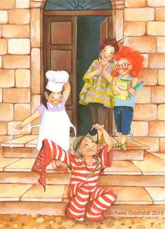 Michela Gastaldi, illustrazione per Da grande NON voglio fare la principessa, MdS Editore, 2015