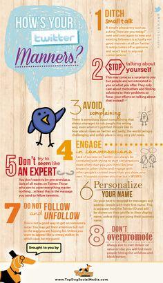 #Twitter #Etiquette