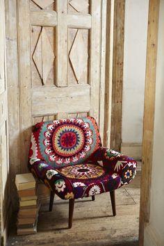 Amazing suzani armchair - upholstery inspiration.