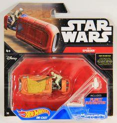 L001299 Hot Wheels / Die-Cast / Star Wars #18 / Rey's Speeder #HotWheels #ReysSpeeder