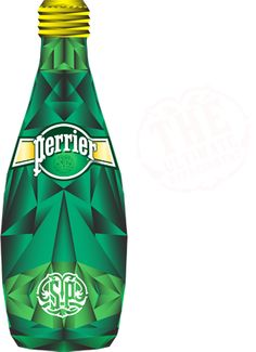 ULTIMATE REFRESHMENT - I started drinking Perrier in the late 70s but it really took off in the 80s. Had to have my Perrier !