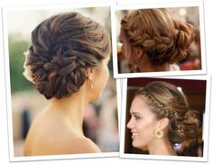 elegant braided hairstyles    Braided wedding hairstyles   My Hairstyles Site