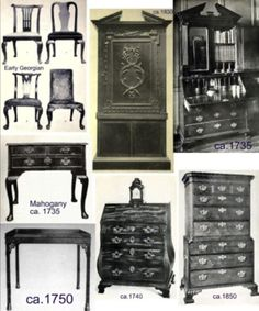 Items of Georgian furniture from Fool Me Twice.