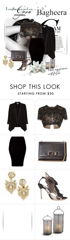 """""""Passion!"""" by zina1002 ❤ liked on Polyvore featuring Chanel, Coast, Emilio Pucci, American Apparel, Salvatore Ferragamo, Alexis Bittar, Sophia Webster and bagheeraboutique"""