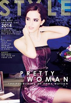 Emma Watson Covers The Sunday Times Style, Talks Fashions Unobtainable Image