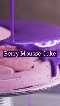 Fun Baking Recipes, Sweet Recipes, Dessert Recipes, Cooking Recipes, Cake Recipes, Delicious Desserts, Yummy Food, Gateaux Cake, Mousse Cake