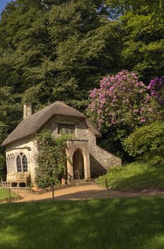 Gothic cottage in summer by Keith Britton - Photo 73002065 - 500px (England)