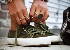 Fancy - Satin Sneakers by Superga x The Man Repeller