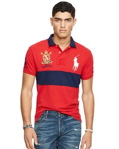 Custom-Fit Big Pony Polo Shirt - Polo Ralph Lauren Custom-Fit - RalphLauren