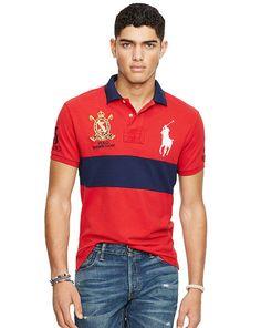 Custom-Fit Big Pony Polo Shirt - Polo Ralph Lauren Custom-Fit - RalphLauren