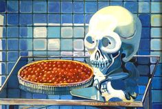 Phillipe Derom - Cherry Tart Vanitas