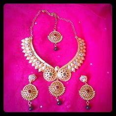 Selling this Latest bridal Indian/Pakistani wedding jewelry in my Poshmark closet! My username is: simplegirl22. #shopmycloset #poshmark #fashion #shopping #style #forsale #Designer #Jewelry