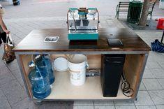 Espresso mobile cart