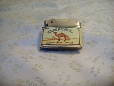 Vintage Classic Camel Lighter My Dad had one and he smoked Camels also