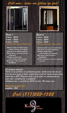 Photo Booth Rental Prices