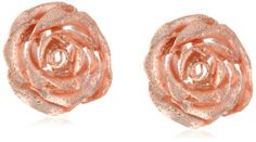 Italian Sterling Silver Rose Gold Plated Omega Back Flower Earrings Amazon Curated Collection,http://www.amazon.com/dp/B005GNWL0S/ref=cm_sw_r_pi_dp_hKcFtb1T8JRYEXV9