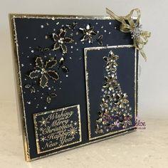 Dies by Chloe - Holly Flower Arch - - Dies By Chloe Holly Flower Arch - Chloes Creative Cards Chloes Creative Cards, Creative Ideas, Christmas Is Coming, Christmas Ideas, Diy Cards, Christmas Cards, Holly Flower, Stamps By Chloe, Winter Love