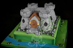 Knight Castle Cake. Austria (vines up the wall)