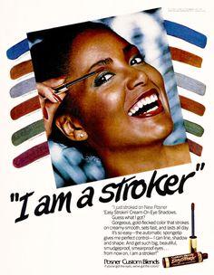 Posner Easy Strokin' Mascara, 1980