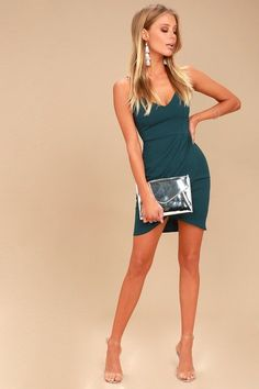 Forever Your Girl Teal Blue Bodycon Dress 2 #bodycondresshomecoming