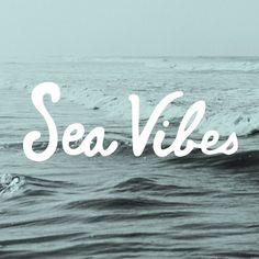Sea vibes - #goodvibes #ocean #happyplace