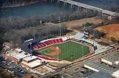 our neighbor... University of South Carolina baseball stadium! love.