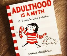 Adulthood Is A Myth Book - https://tiwib.co/adulthood-myth-book/ #Books+Reading #gifts #giftideas #2017giftideas #xmas
