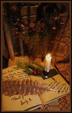 Christmas chair letter